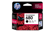HP 680 Black Original Ink Cartridge