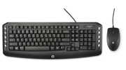 HP WIRED C2600 KEYBOARD AND MOUSE COMBO