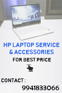 hp laptop service center in chennai, hyderabad