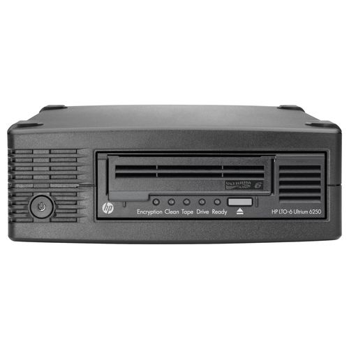 HPE StoreEver LTO-6 Ultrium 6250 EH970A External Tape Drive